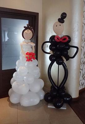 Para młoda z balonów  - 250 zł