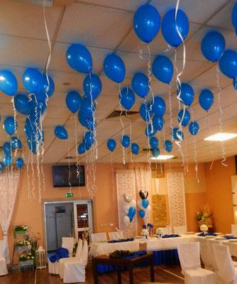 balonowy sufit