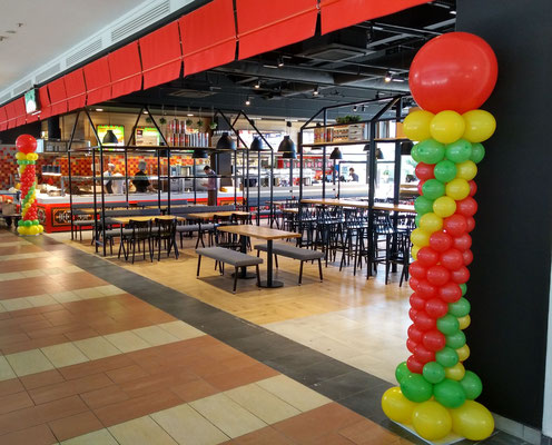 Kolumny Fiesta Dekoracje Balonowe Balony Z Helem