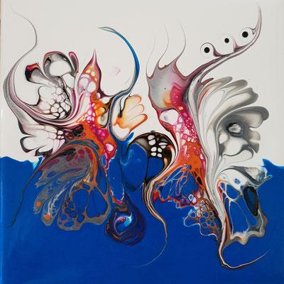 Amonautic Serie - abstrakt - Acrylic Pouring