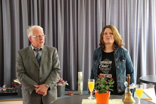 Verabschiedung am 09.07.2019 durch den scheidenden Schulleiter Dr. Ulrich Kleine