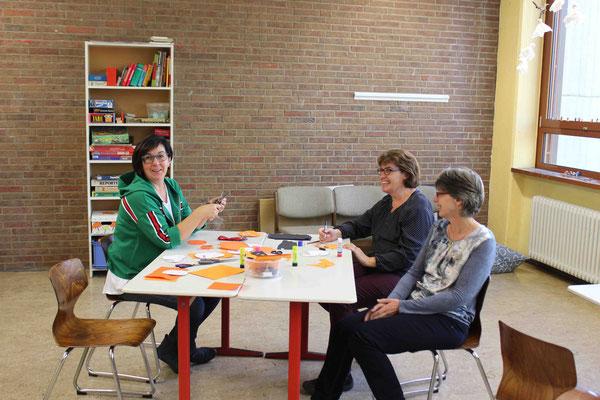 Die Damen der Übermittagsbetreuung des SkF: Marianne Bläsing, Heike Paland und Christiane Risse