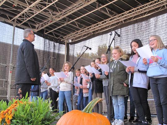 Chorauftritt der Jüngsten