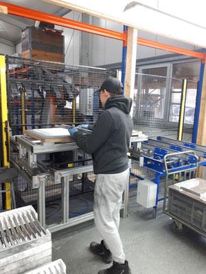 Jan bei der Firma MGM  Metallbearbeitung