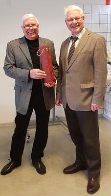 seniorTrainer Wolfgang Rochna und Schulleiter Dr. Ulrich Kleine