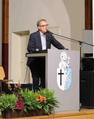 Grußworte des stellvertretenden Bürgermeisters Ewald Hille