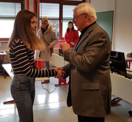 Gratulation von Wolfgang Rochna
