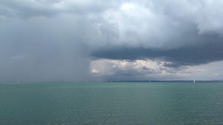 Regen von Westen