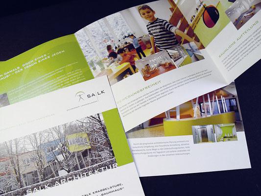 SALK Infofolder Bauprojekte
