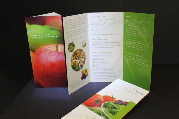 SALK Infofolder Ernährungsmedizin