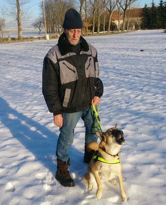 Klaus mit Ajax