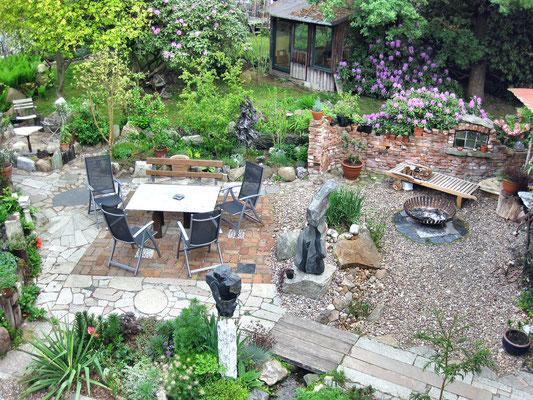 Garten von oben - Mengebostel 2011