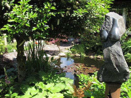 Bei uns im Garten 2009