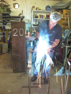 Thomas bei der Arbeit - 2011