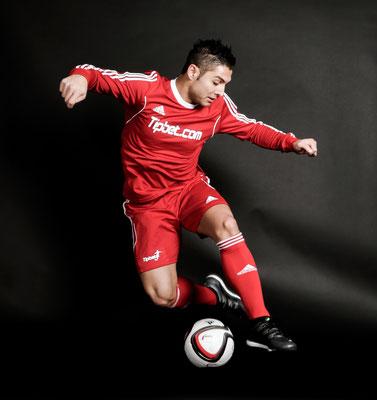 Fußball Freestyler als Sportmodel