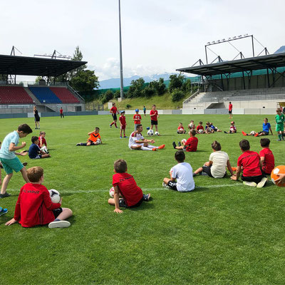 FC Vaduz - Fussball Freestyle Workshop