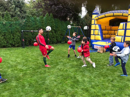 Geburtstagsparty Fußball Training
