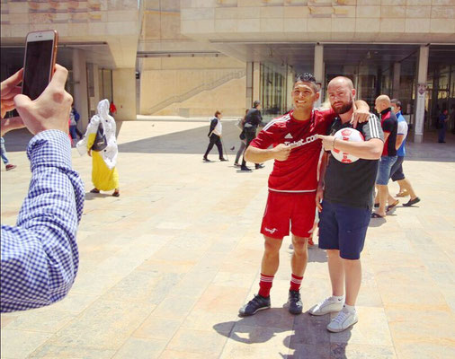 Fussball Freestyler nach Roadshows