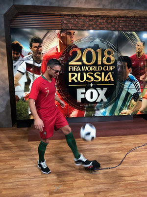 Cristiano Ronaldo FoxSports Worldcup 2018 Saki