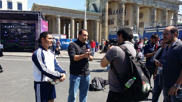 Saki Interview Fußball