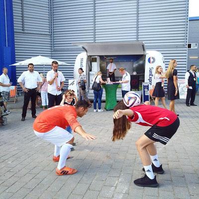 Fußball Workshop für SunExpress