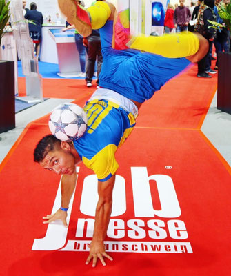 Fußball Freestyler Messe / Football Exhibition & Fair