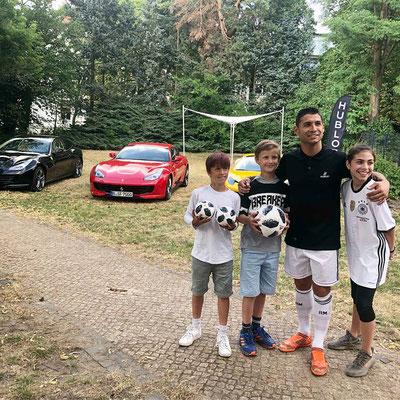 Saki Fußball Künstler - Hublot Berlin