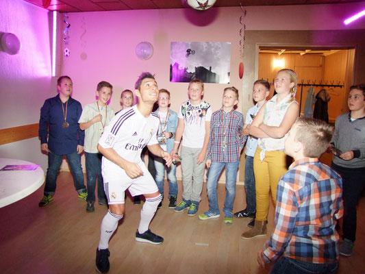Fußball Freestyler für Teambuilding und Incentives