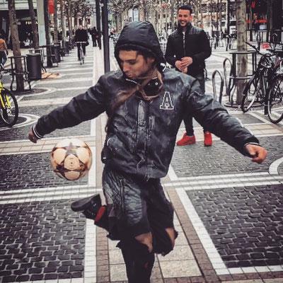 Fussball Freestyler für Roadshows