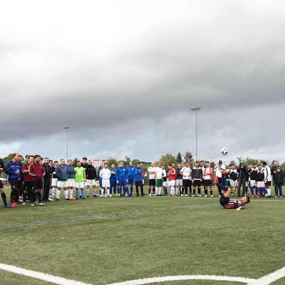 Fussball Turnier Fußball Schule Saki