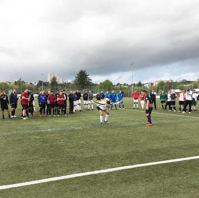 Fußball Turnier Freestyler Saki
