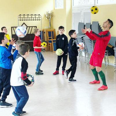 Fussball Schule Training