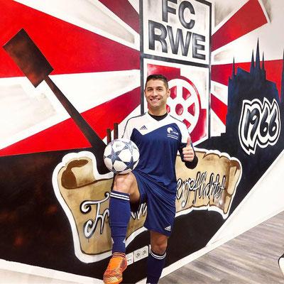 Fußball Freestyler - WbG Einheit Erfurt und FC Rotweis Erfurt