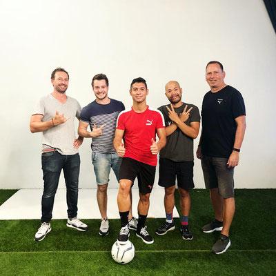 Saki with PUMA and PUMA Football