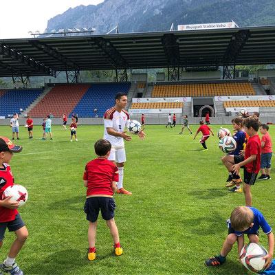 FC Vaduz - Fussballtraining