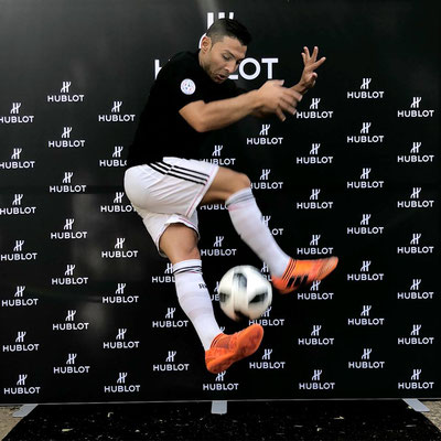 Saki - Fußball Artist Cristiano Ronaldo Double Lookalike - Hublot