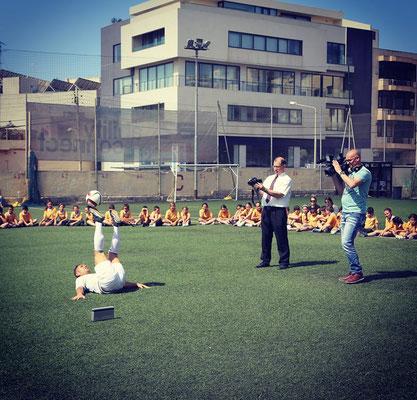 Fußball Freestyler für Schulworkshops