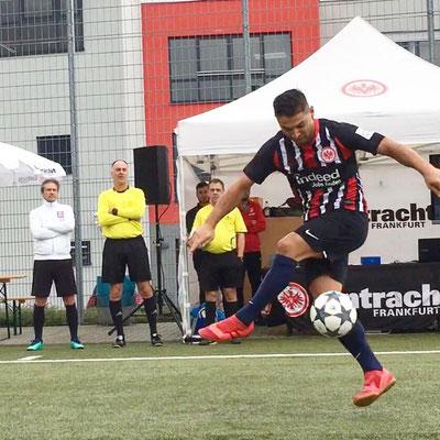 Fußball Freestyler Eintracht Frankfurt Turnier