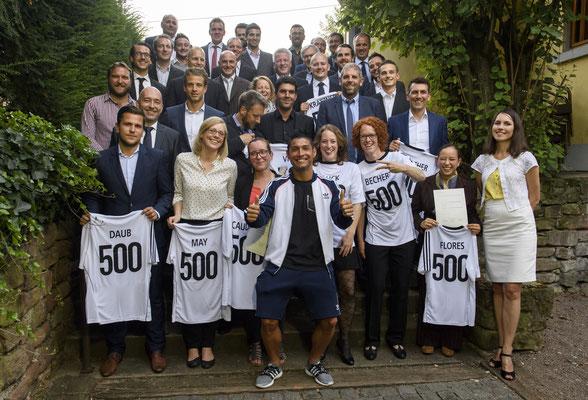 Ballkünstler bei der Firmenfeier des Deutschen Fußball Bunds