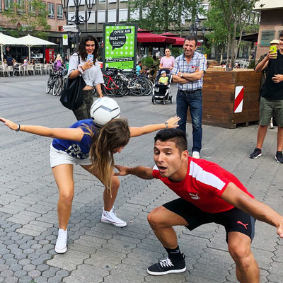 Saki Football Freestyler - Workshop mit PUMA