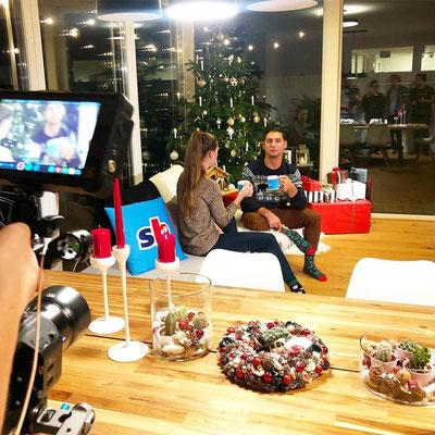 Fussball Weihnachts-TV Werbespot