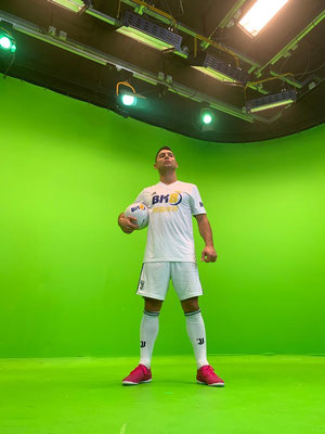 BK8 Fussball Filmproduktion Greenscreen