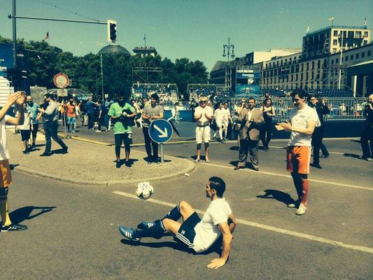 Fußball Freestyler effektiv einsetzen für Roadshows