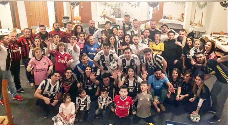 Fussball Weihnachtsfeier