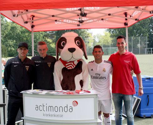 Fussball Freestyler bei Actimonda Promotion Aktion