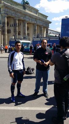 Fußball Künstler Interview