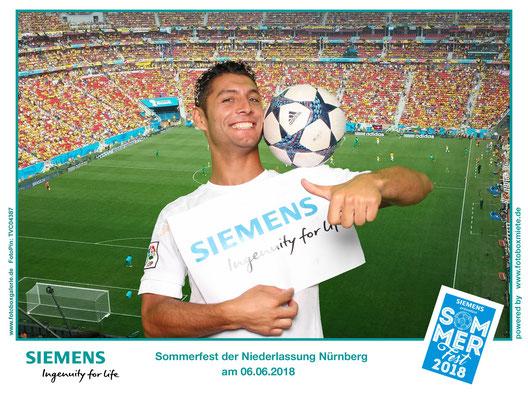 Siemens Fußball Freestyler