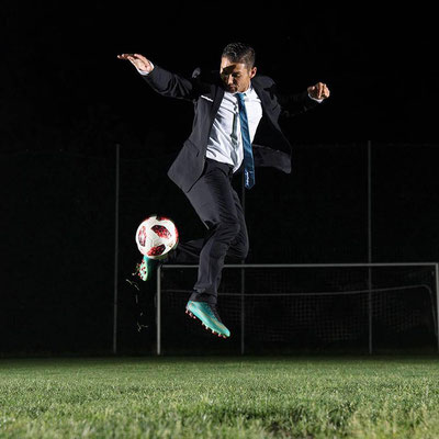 Fußball Sportmodel Saki Freestyler