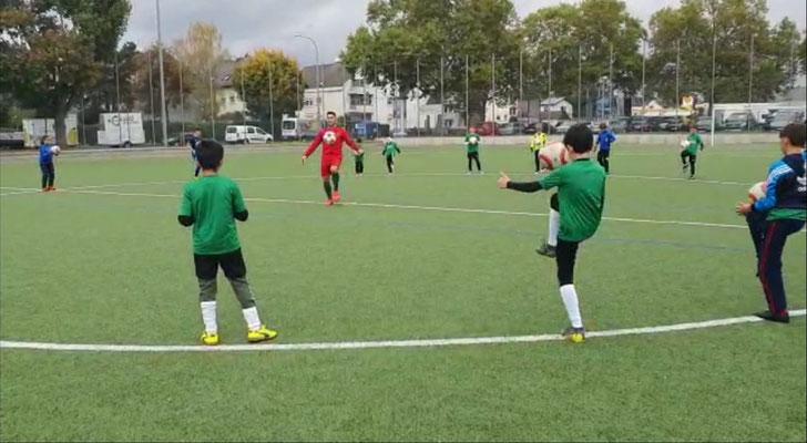 TSG Mainz Kastel Fussball Camp Training