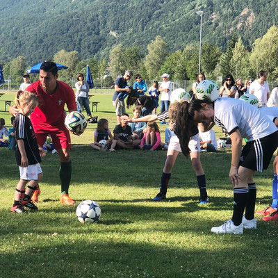 Fussball Freestyler Workshop beim LFV mit Saki